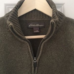 Men's Eddie Bauer 1/4 zip pullover sweater
